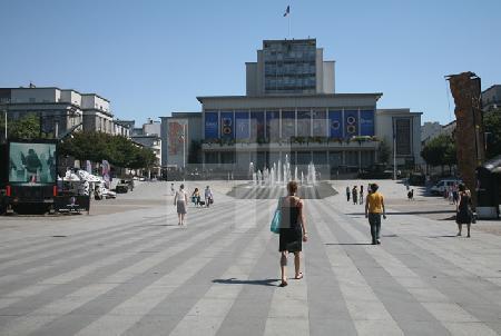 La Place de la Liberté in Brest, Bretagne
