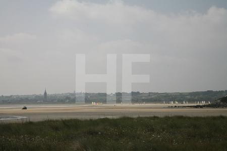 Die Bucht von Goulven, Bretagne