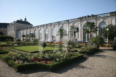 Die Orangerie von Schloß Brühl (1)