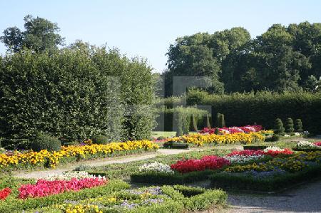 Im Park von Schloß Brühl