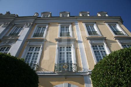 Teil der Fassade von Schloß Brühl