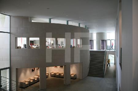 Das Foyer des Bonner Kunstmuseums
