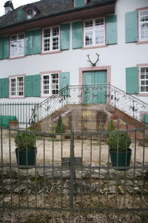 Chalet im Wenken-Park in Riehen, Schweiz