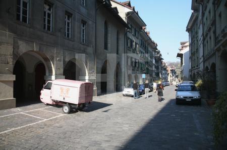 In der Brunngasse in Bern