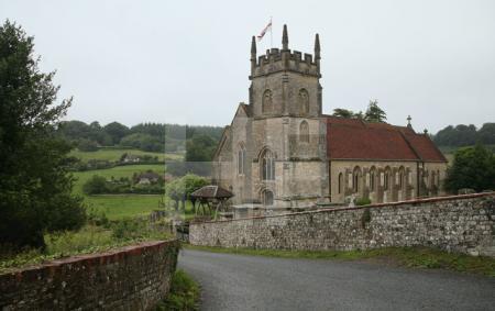 Die Kirche von Horningsham, Wiltshire