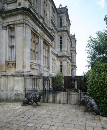 Nebeneingang von Longleat House, Wiltshire