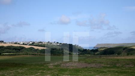 Landschaft bei Polzeath, Cornwall