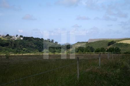 Landschaft bei Polzeath, Cornwall (4)