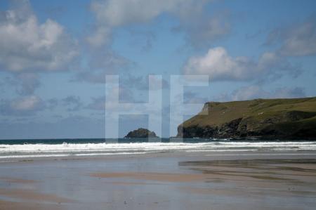 Der Strand von Polzeath, Cornwall (2)