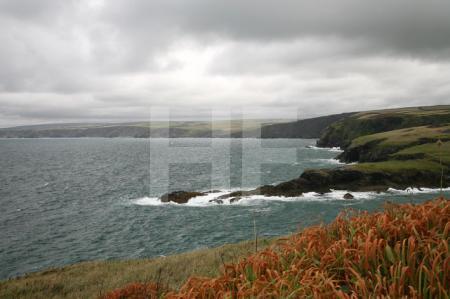 Die Küste bei Port Isaac, Cornwall