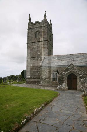 Die Kirche von St. Endellion, Cornwall