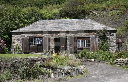 Cottage in Boscastle, Cornwall