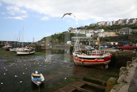Der Hafen von Mevagissey, Cornwall (2)