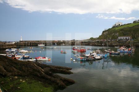 Der Hafen von Mevagissey, Cornwall (3)