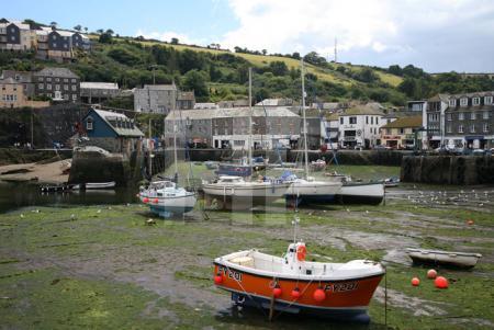 Der Hafen von Mevagissey, Cornwall (6)