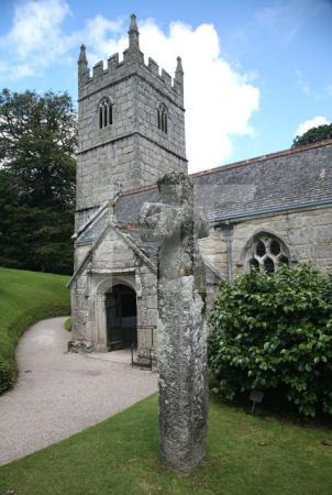 Die Kapelle von Lanhydrock, Cornwall (2)