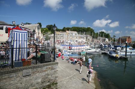 Der Hafen von Padstow, Cornwall