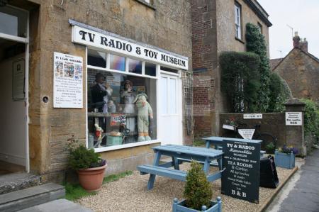 Das Museum für Spielzeug und Radio/Fernsehen in Montacute, Somerset