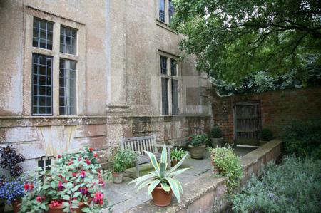Die Fassade von Tintinhull, Somerset