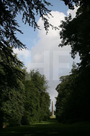 Der Obelisk in Stourhead Gardens, Wiltshire