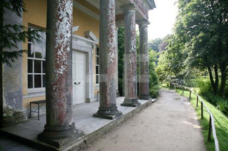 Der Flora-Tempel, Stourhead Gardens, Wiltshire