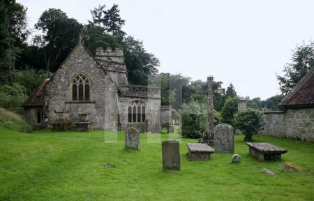St Peters Church in Stourhead, Wiltshire